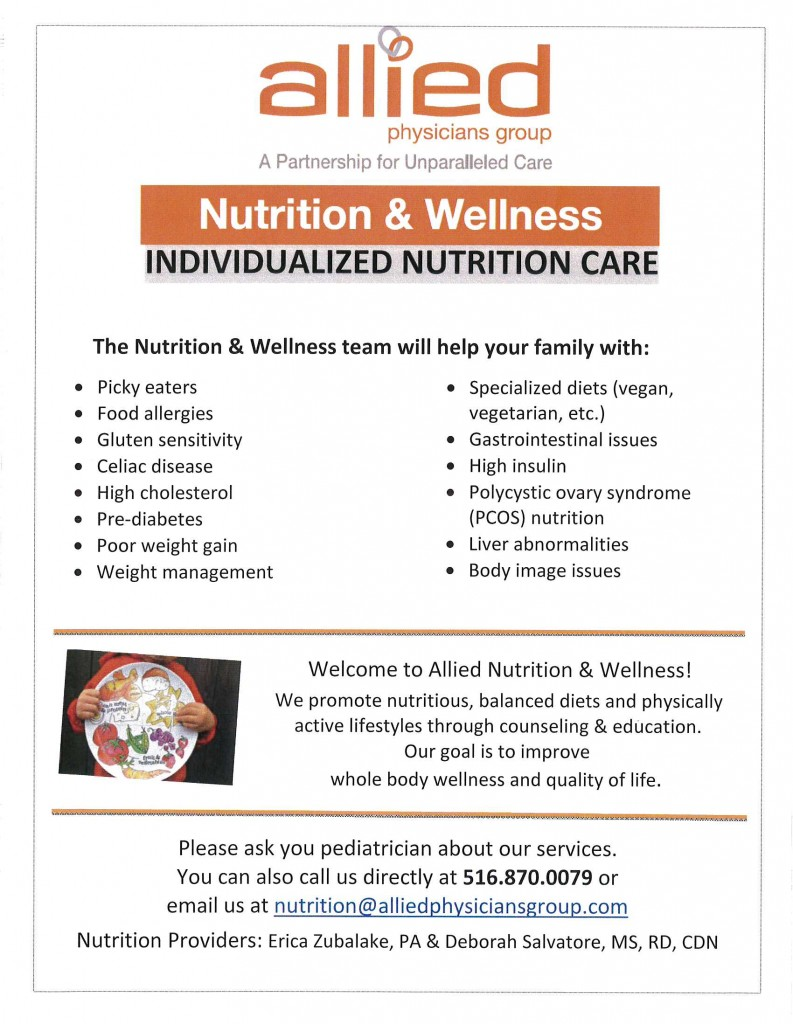 Allied Nutrition - welcome